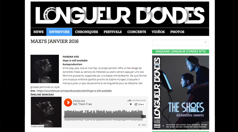 Longueur-d'Ondes-Janvier2016- Pandra Vox